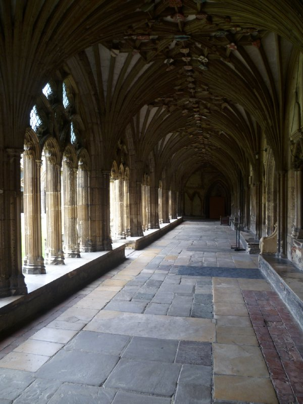 A passage around the cloister