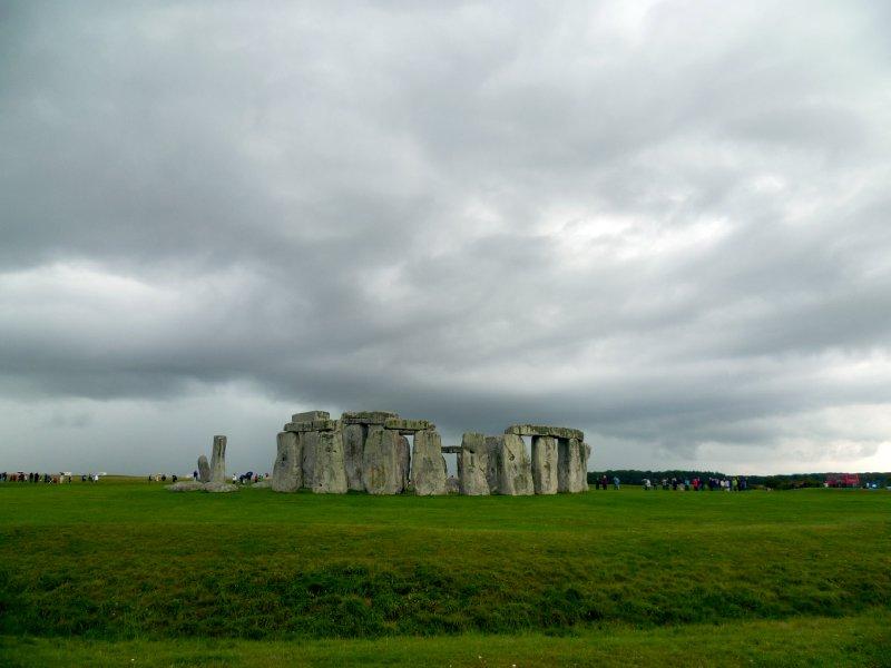 Menacing Stonehenge