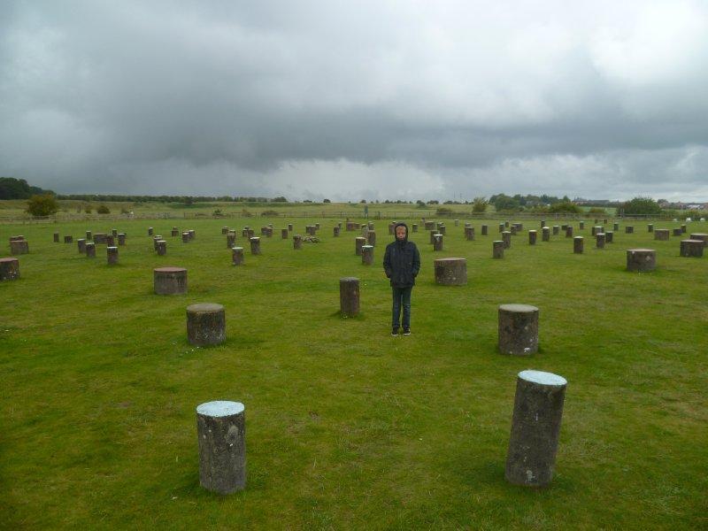 Morgan at Woodhenge