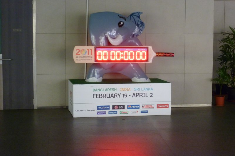 The elephant confirms that the World Cup has started