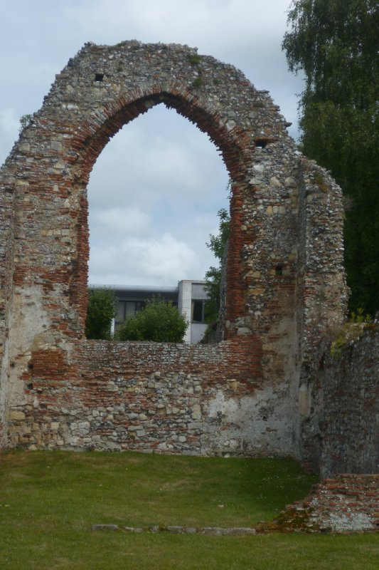 Ruins at St Augustine's