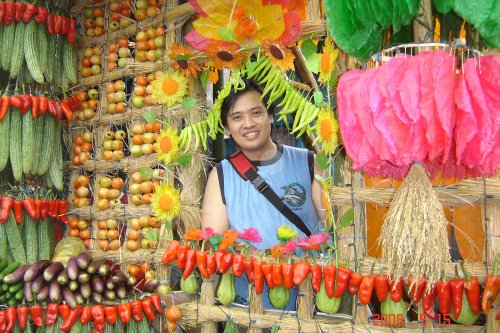Me at the Pahiyas Festival