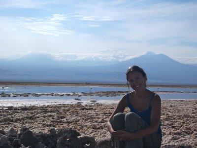 Salt plain Chile