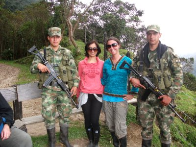 Making friends with the military