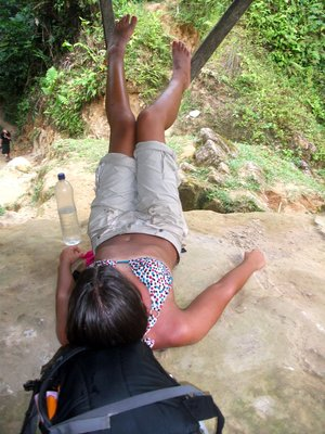 In pain after day 4 of Lost City Trek and 6 hours walking up hill