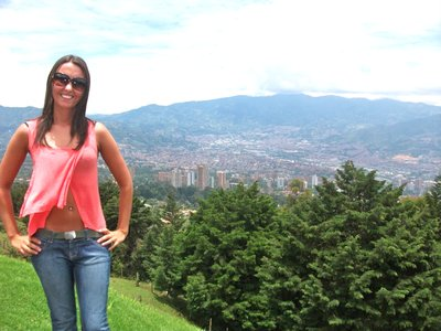 Final day in Medellin, overlooking the city