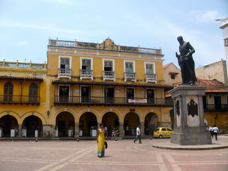 The beautiful old town, Catagena