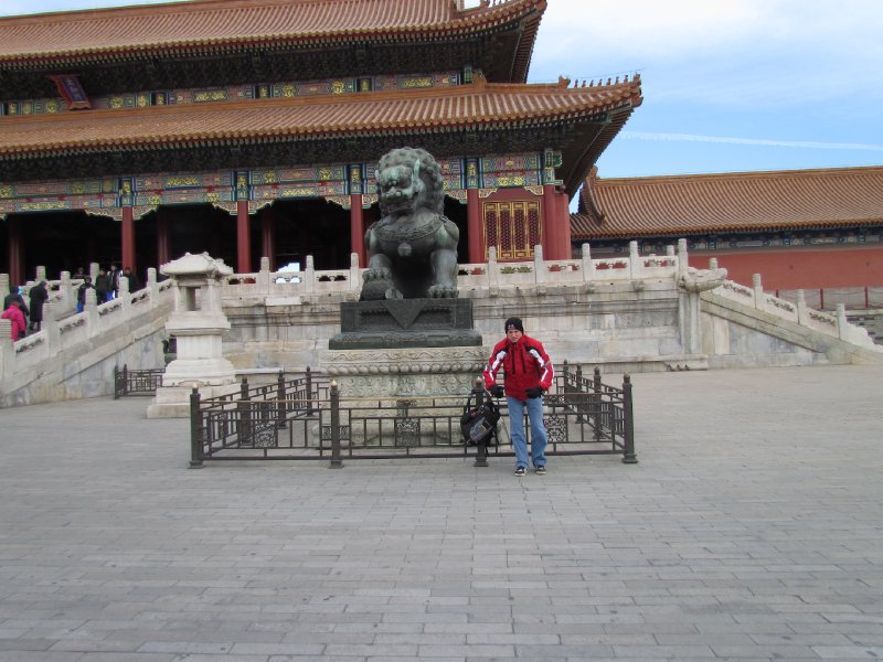 Forbidden City Imperial Guardian Lions - Male Version