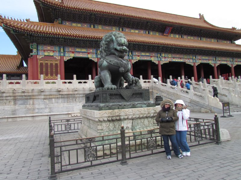 Forbidden City Imperial Guardian Lions - Female Version