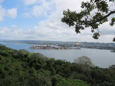 View of Flores from the mirador