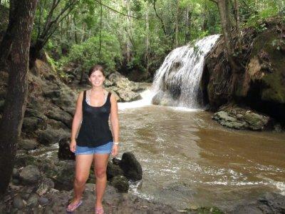 Hot waterfalls