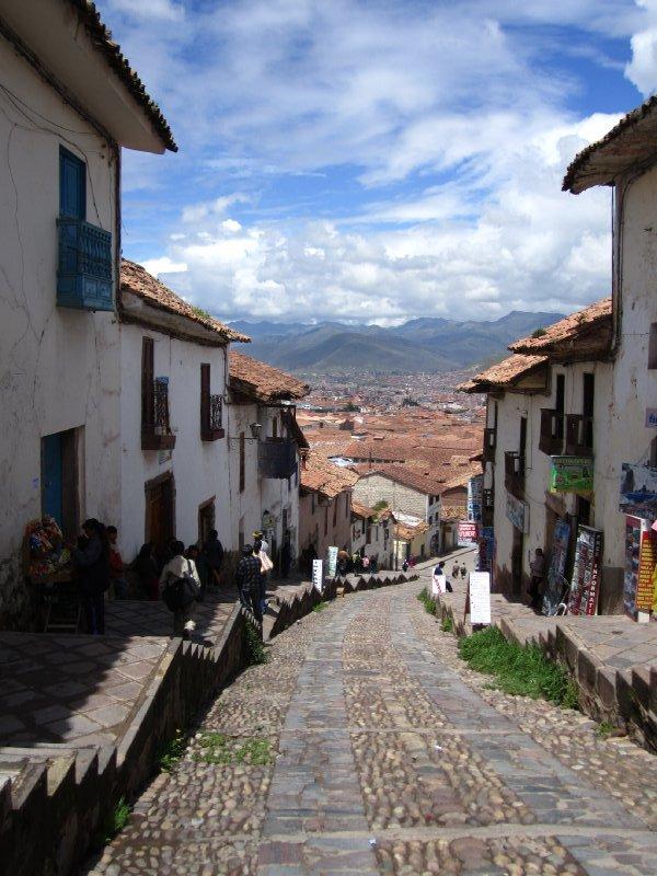 Gaten eg bodde i, Cusco