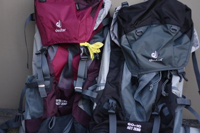 Our new packs