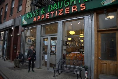 next to katz's...take out deli