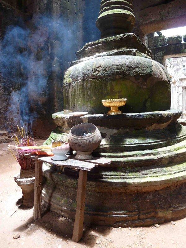 Shrine at Preah Khan Temple