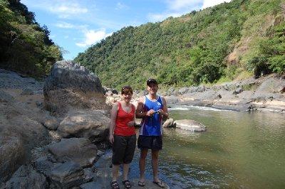 Hanne og Adam i barron river