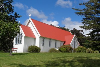 St James Anglican Church in Kerikeri.