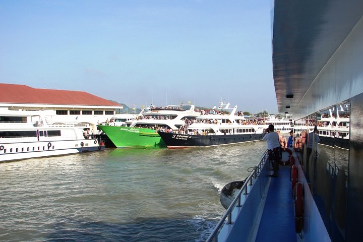 The other ferries in Phuket Town.