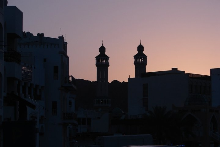 The Mutrah Mosque.