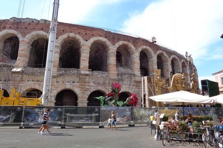 The arena in Verona.