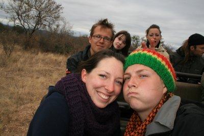 Me and Penny, plus Ed, Kathrine and Caroline