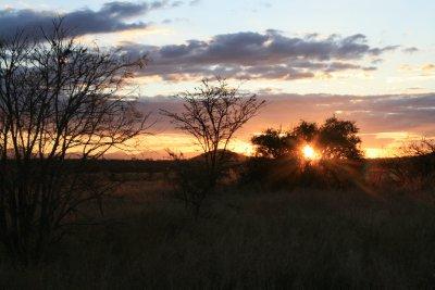 Sunset on Pidwa