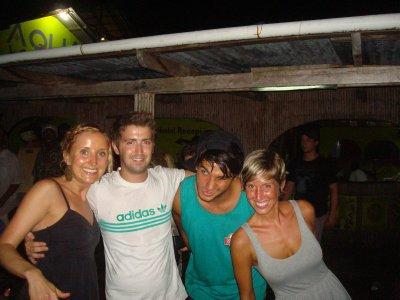 Alanna, Tiff, Patrick and Ana