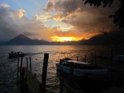 Panajachel Sunset