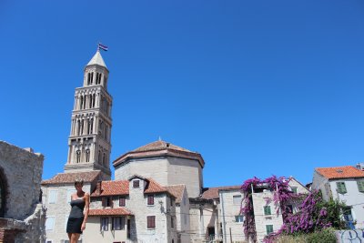 Ana and the bell tower