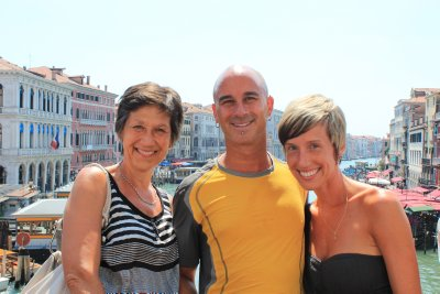 Mom and the A-Team in Venice