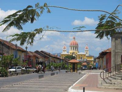 The main tourist street of Granada