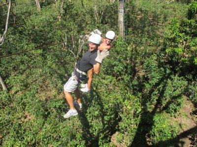 Walking the trapeze