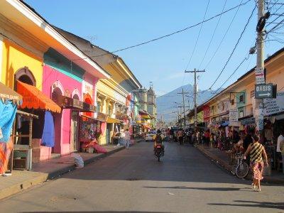 Colourful streets of Granada