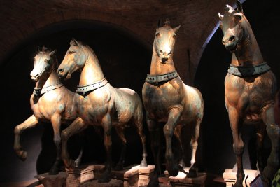 The four horses of Saint Mark's Cathedral