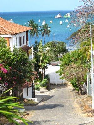 The streets of San Juan del Sur
