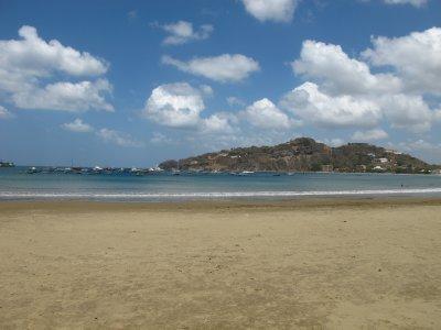 Long expanse of fine sand beach