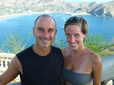 Andrew and Ana in San Juan del Sur