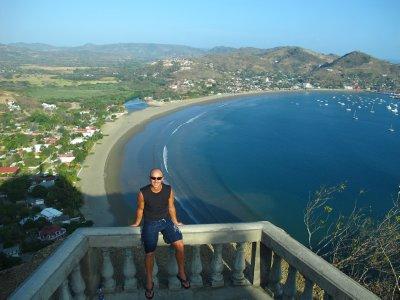 A birdseye view of San Juan del Sur