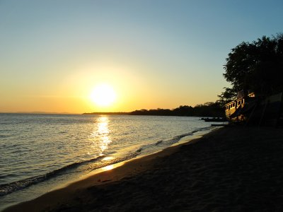 Sunset at Charco Verde