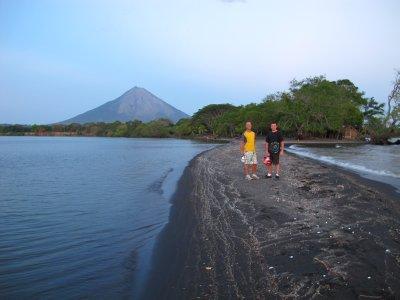 Andrew and Jacob at Punta de Jesús Maria