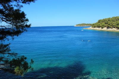 Blue waters and endless beaches of Pula