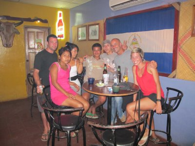 A night out in Ometepe