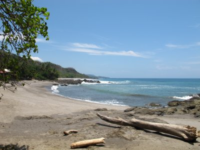 Montezuma beaches that remind us of the West Coast of Canada