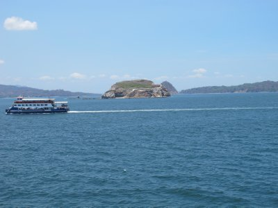 The ferry ride from the Nicoya Peninsula