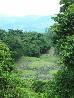 The only Mayan archaeological site in Costa Rica