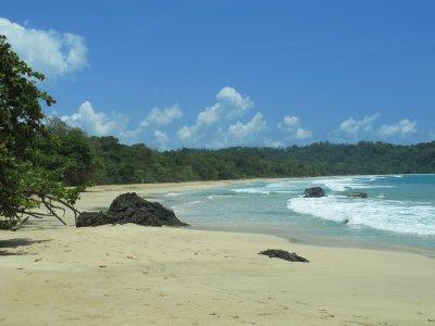 The deserted Wizard Beach