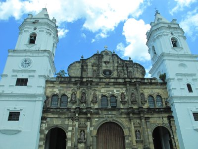 Very old church in Casco Viejo