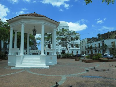 The Plaza de la Catedral was once the center of Panama City until the early twentieth century