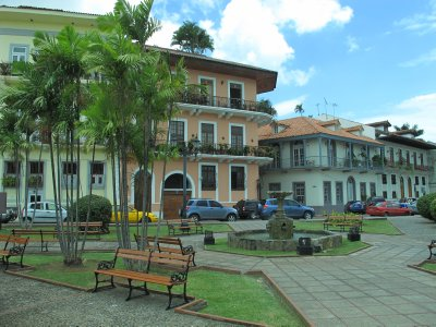 Charming old streets in Casco Viejo