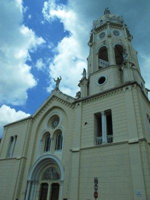 Church in Old Town Panama